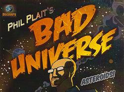 Phil Plait's Bad Universe logo