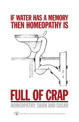 Anti-Homeopathy poster (PG version)