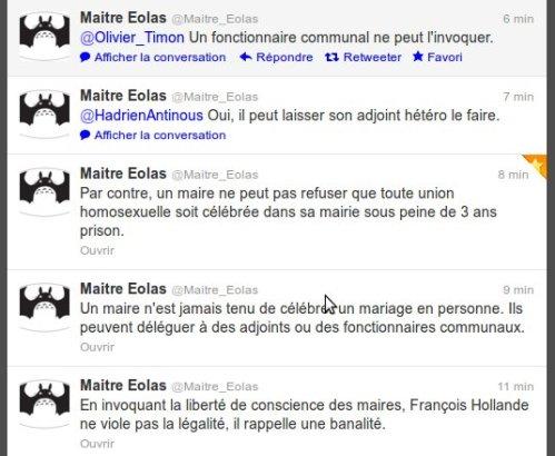 Capture d'écran : fil Twitter de @Maitre_Eolas