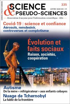 Converture de la revue Science et Pseudo Sciences